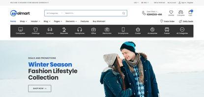 Online Mart Web Store