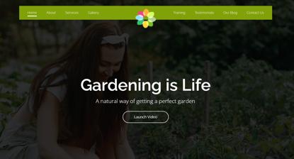 Garden-Website