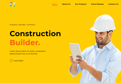 Picture of Construction Website